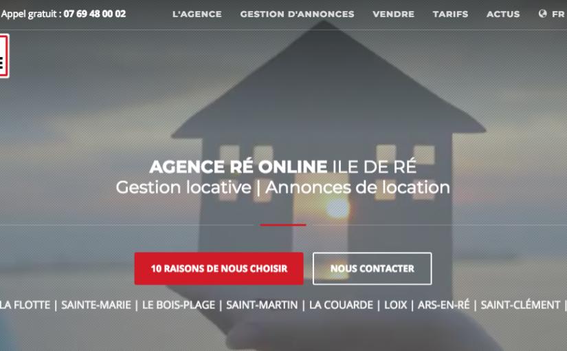 Agence de locations Ile de Ré Online